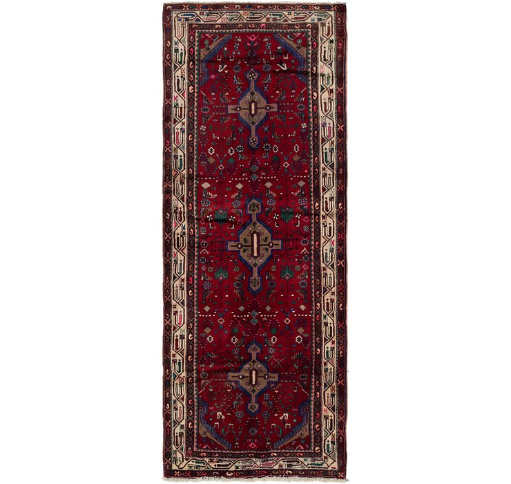 3' 9 x 9' 10 Darjazin Persian Runner...
