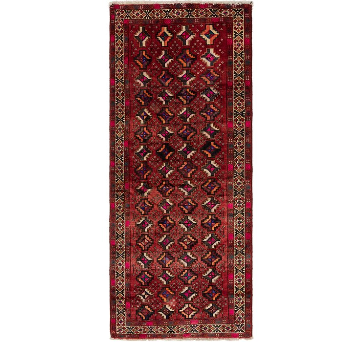 4' 2 x 10' 2 Shiraz Persian Runner Rug