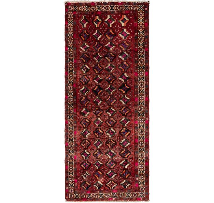 4' 2 x 10' 2 Shiraz Persian Runner Rug