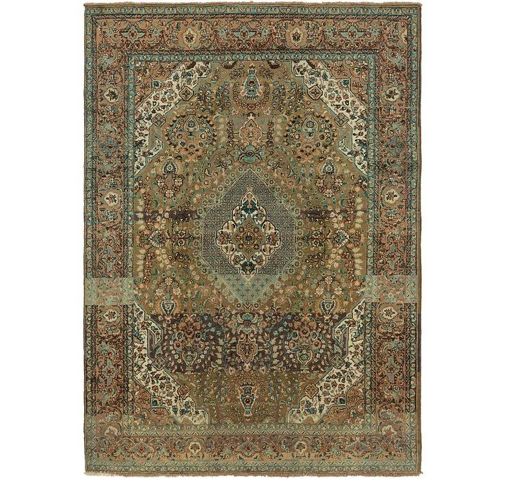 8' 3 x 11' 6 Tabriz Persian Rug