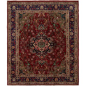 Link to 320cm x 380cm Tabriz Persian Rug page
