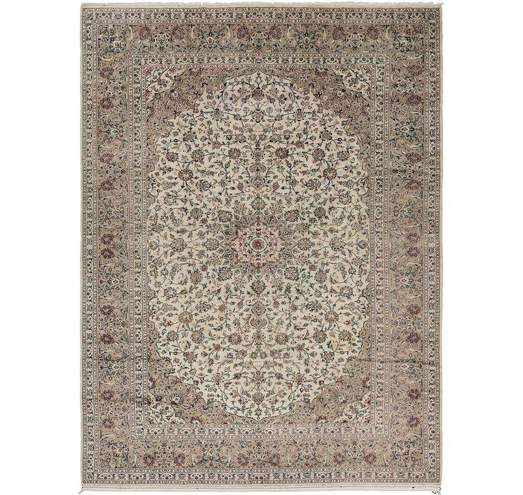 287cm x 395cm Kashan Persian Rug