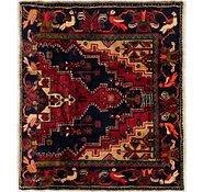 Link to 130cm x 142cm Tuiserkan Persian Square Rug