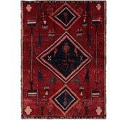 Link to 4' 6 x 6' 6 Hamedan Persian Rug