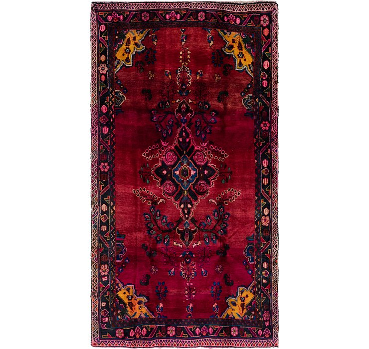 4' 10 x 8' 10 Gholtogh Persian Rug