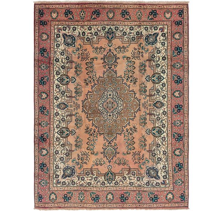 9' 8 x 12' 10 Tabriz Persian Rug