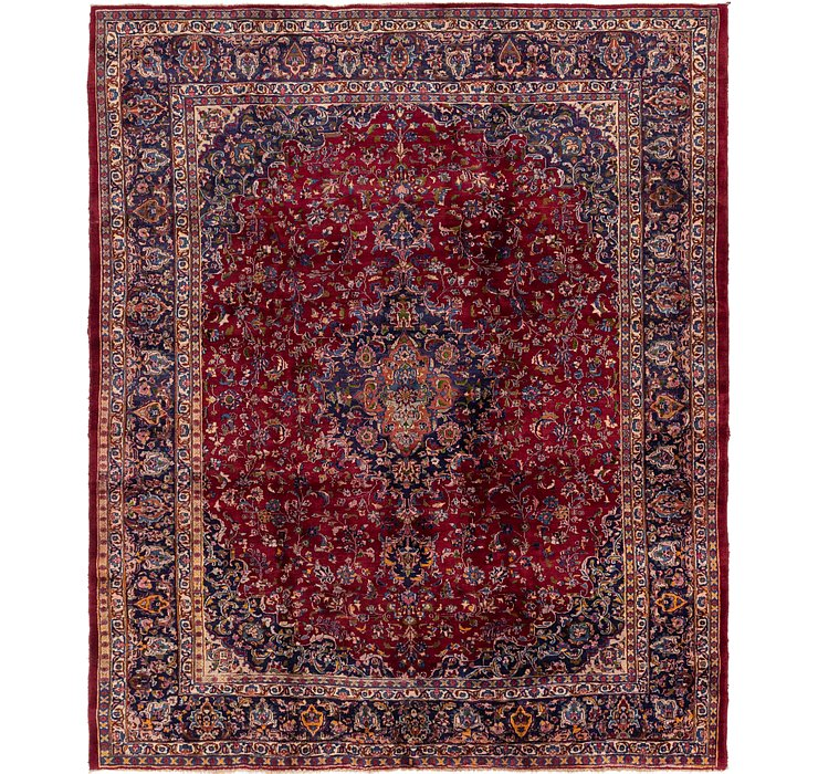 9' 7 x 11' 10 Mashad Persian Rug