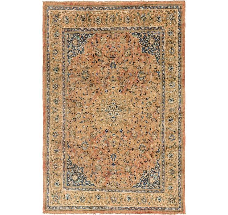 8' 8 x 12' 6 Mashad Persian Rug