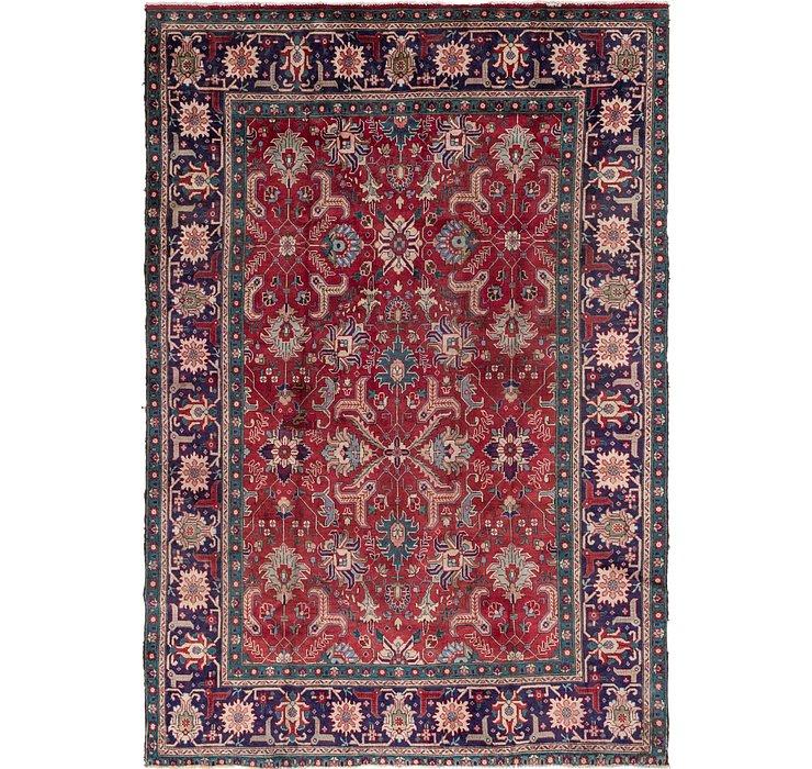 7' 10 x 11' 5 Tabriz Persian Rug