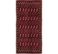 Link to 60cm x 132cm Torkaman Persian Rug