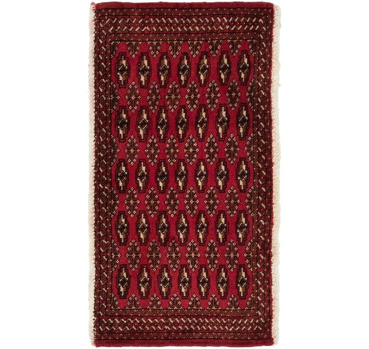 1' 10 x 3' 5 Torkaman Persian Rug