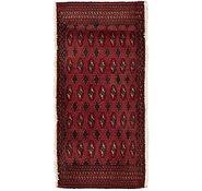 Link to 2' x 4' 2 Torkaman Persian Rug