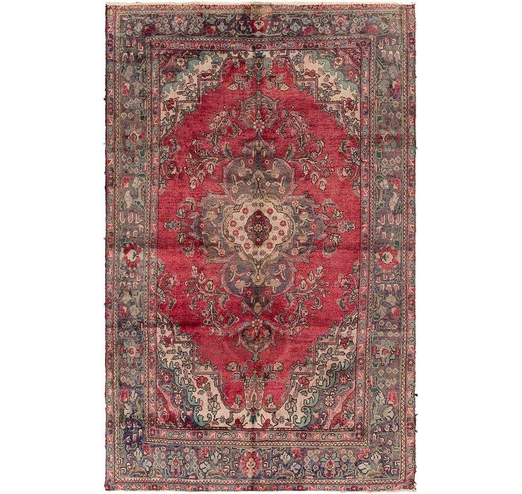 6' 3 x 9' 10 Tabriz Persian Rug