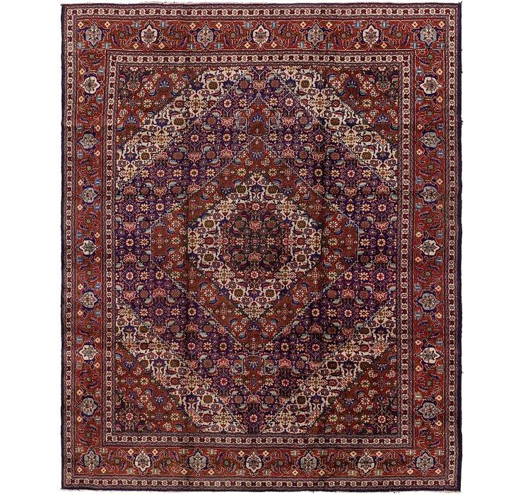 9' 10 x 12' 8 Tabriz Persian Rug