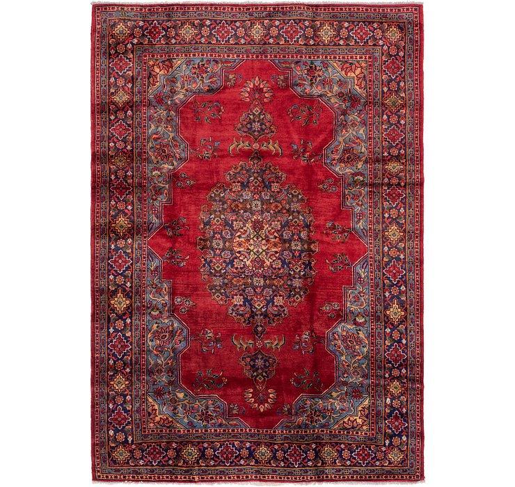 7' 10 x 11' 4 Golpayegan Persian Rug