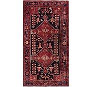 Link to 4' 9 x 9' 2 Hamedan Persian Runner Rug