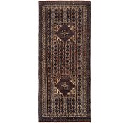 Link to 3' x 6' 8 Balouch Persian Runner Rug