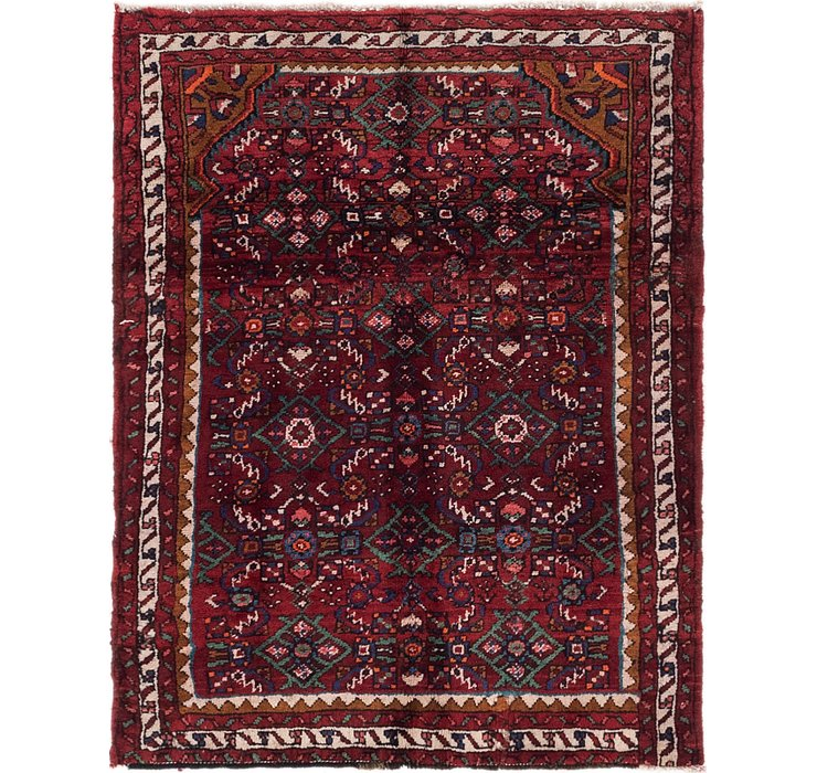 3' 8 x 4' 8 Hossainabad Persian Rug