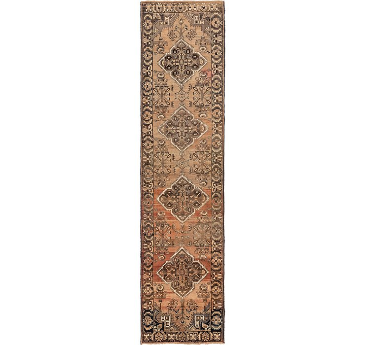 3' 5 x 13' 7 Saveh Persian Runner Rug