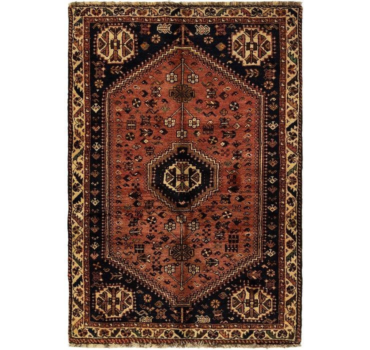 3' 6 x 5' Ghashghaei Persian Rug