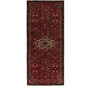 Link to 117cm x 282cm Hossainabad Persian Runner Rug