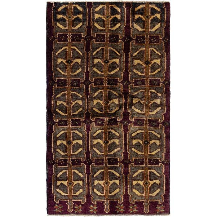 3' 5 x 6' Shiraz Persian Rug