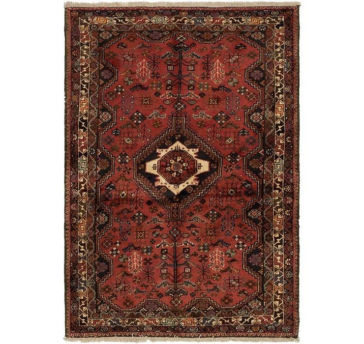 3' 6 x 5' 3 Ghashghaei Persian Rug