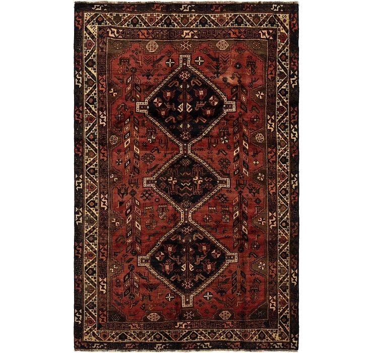 6' 3 x 10' Ghashghaei Persian Rug