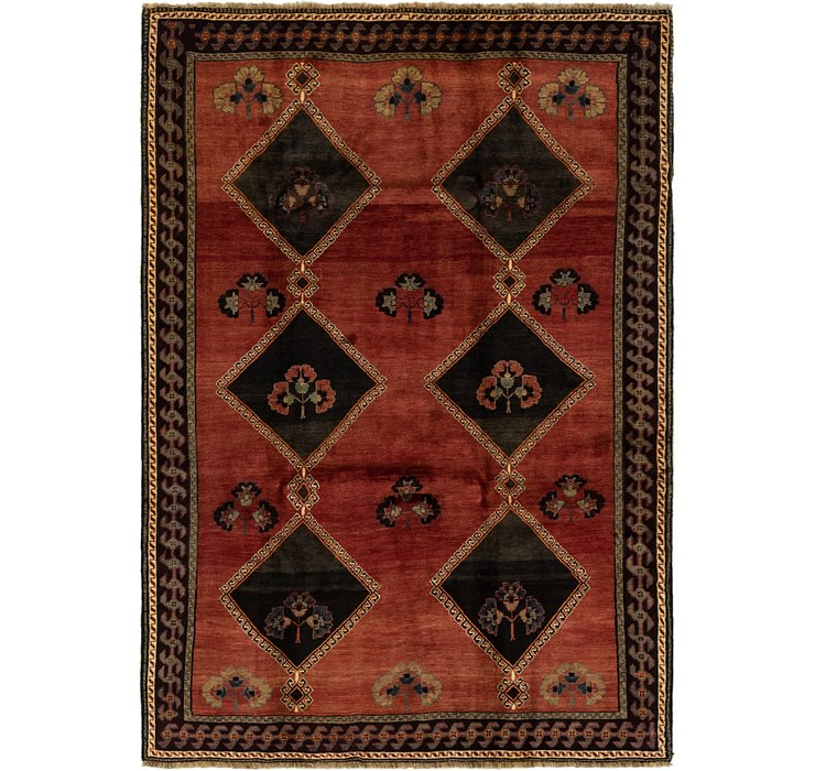 5' 4 x 7' 8 Ghashghaei Persian Rug
