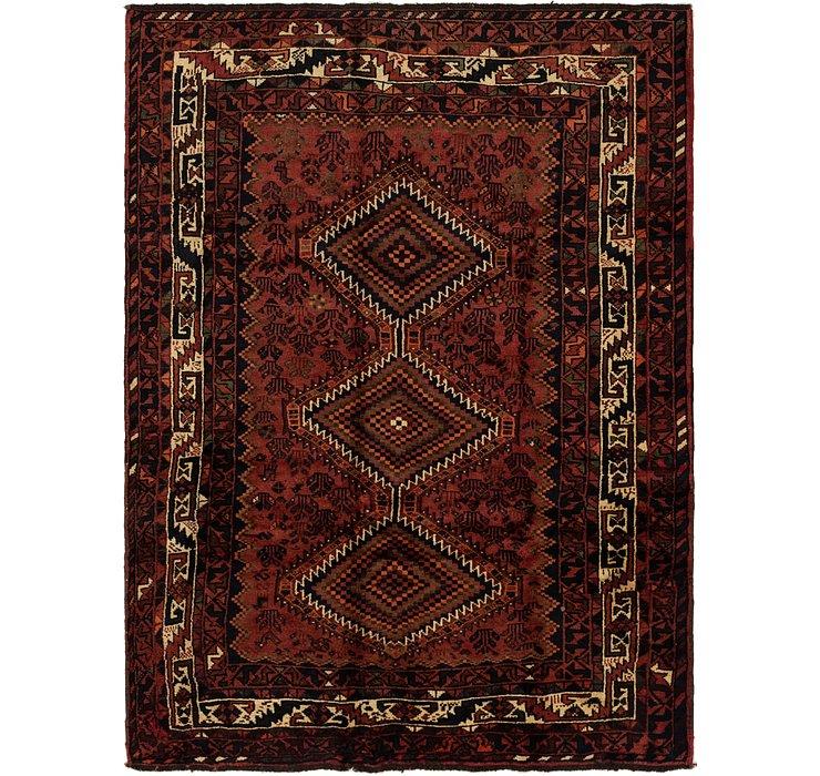 6' 2 x 8' 8 Ghashghaei Persian Rug