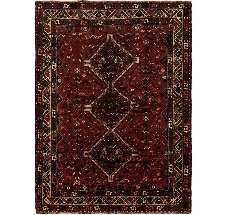 7' x 9' 7 Ghashghaei Persian Rug