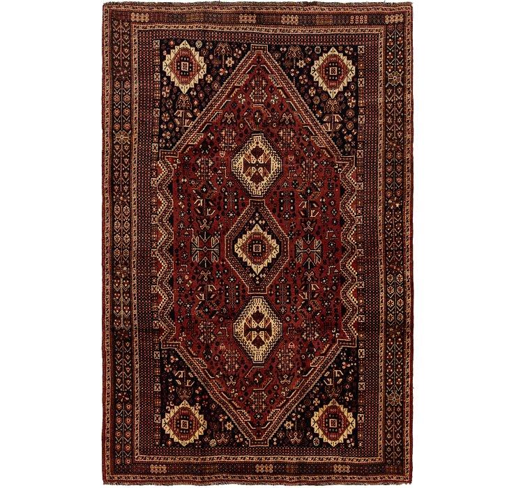 5' 9 x 8' 10 Ghashghaei Persian Rug