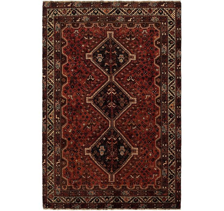 195cm x 292cm Ghashghaei Persian Rug