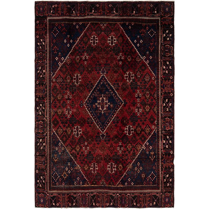 8' 8 x 12' 10 Joshaghan Persian Rug