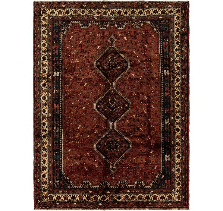 6' 10 x 9' 3 Ghashghaei Persian Rug
