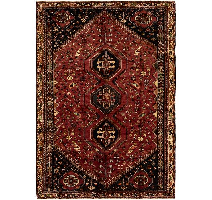 7' 6 x 10' 10 Ghashghaei Persian Rug