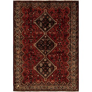 Link to 213cm x 295cm Ghashghaei Persian Rug page