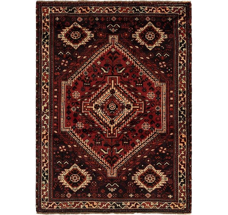5' x 6' 8 Ghashghaei Persian Rug