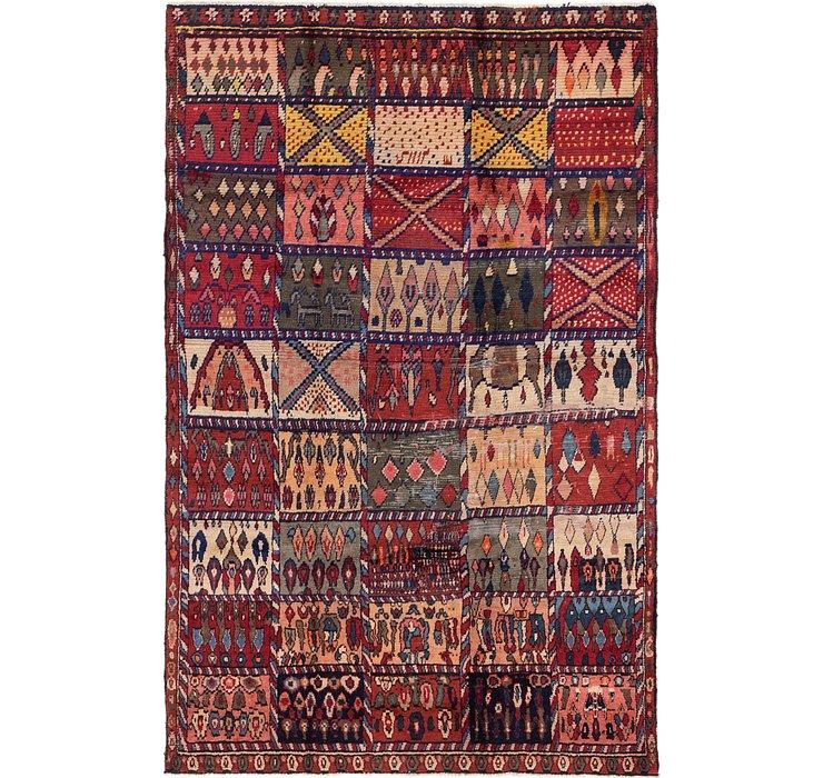 5' 2 x 7' 10 Hamedan Persian Rug