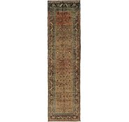 Link to 3' 10 x 14' Hossainabad Persian Runner Rug