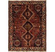 Link to 4' x 5' 3 Ghashghaei Persian Rug