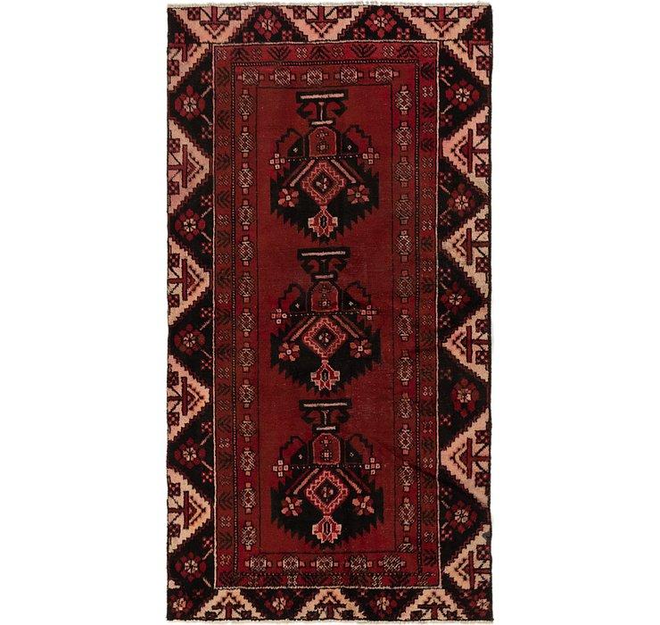 3' 5 x 6' 6 Ferdos Persian Runner Rug