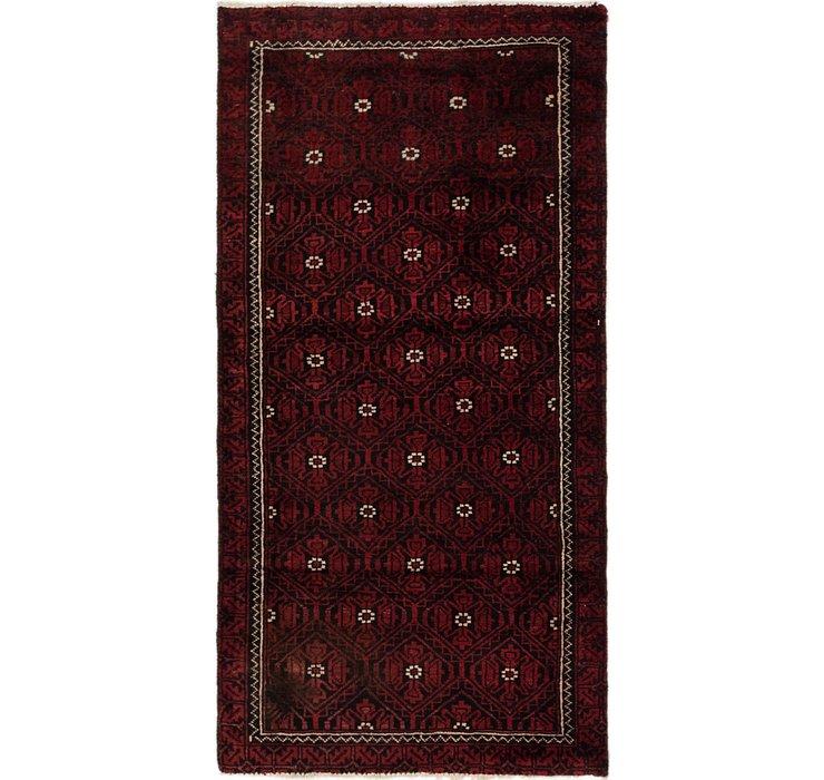 2' 9 x 5' 3 Balouch Persian Rug