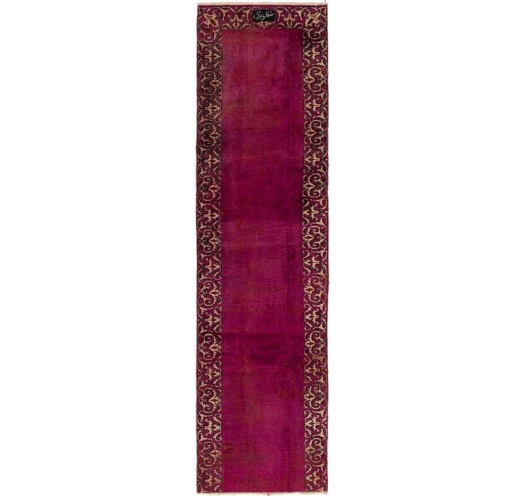 2' 8 x 9' 10 Tabriz Persian Runner Rug