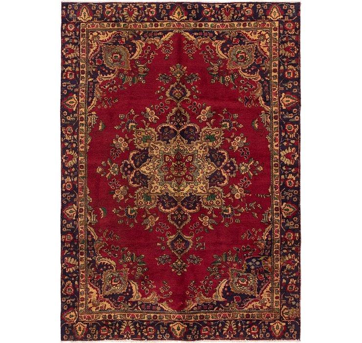 6' 4 x 9' 2 Tabriz Persian Rug