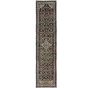 Link to 3' 9 x 15' 3 Hossainabad Persian Runner Rug