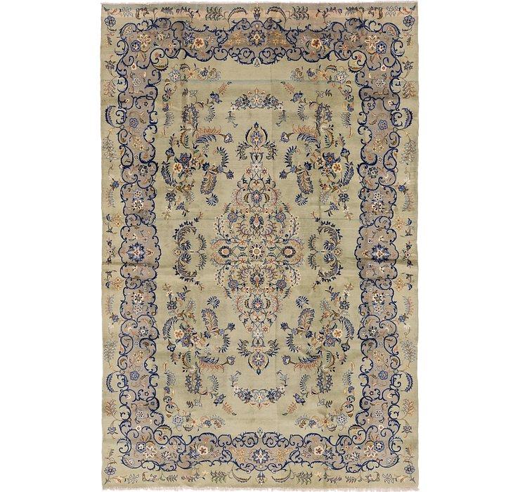 8' 3 x 12' 5 Kashan Persian Rug