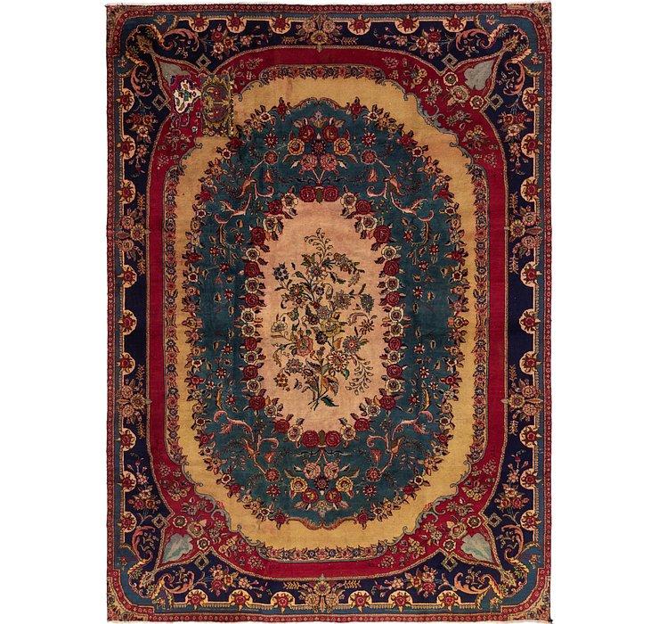 9' 6 x 12' 10 Tabriz Persian Rug