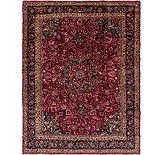 Link to 9' 8 x 13' Mashad Persian Rug