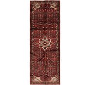 Link to 117cm x 320cm Hossainabad Persian Runner Rug